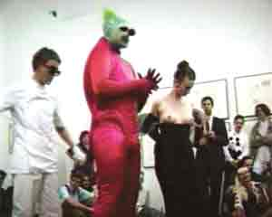 Leigh Bowery at The Serpentine Gallery