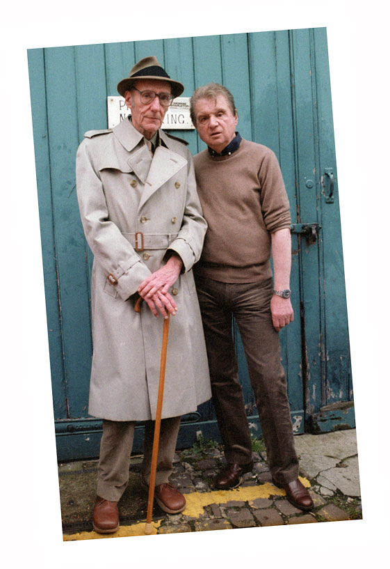 William Burroughs  & Francis Bacon